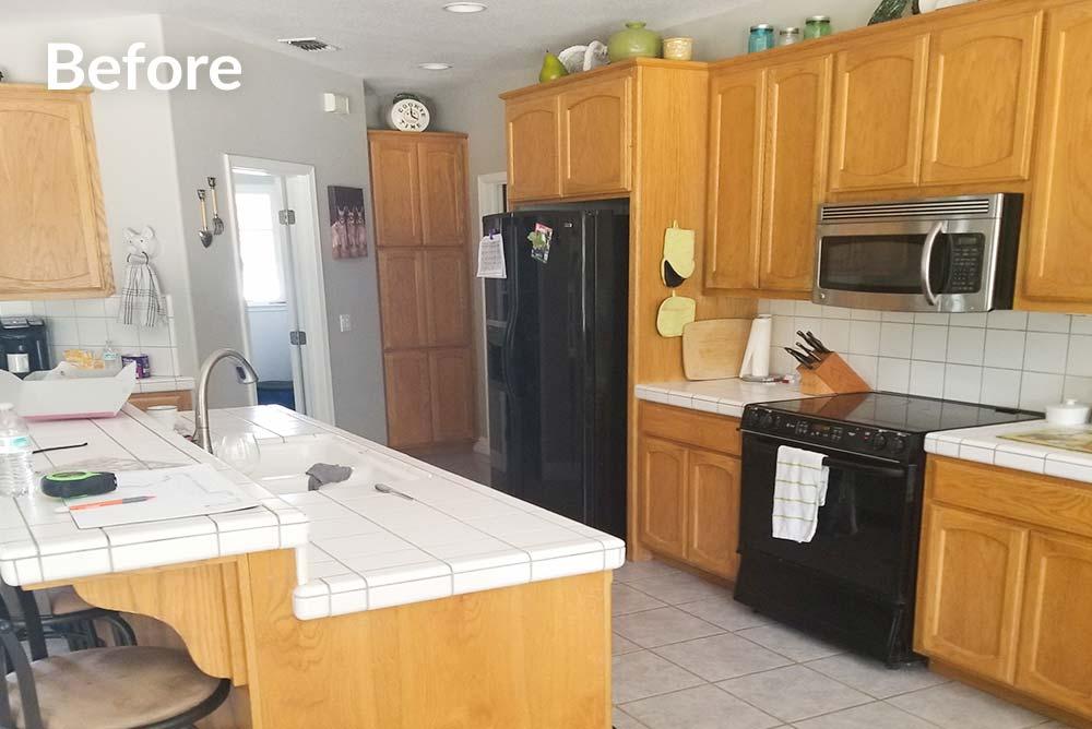 Kitchen Refinish in Granite Bay, CA