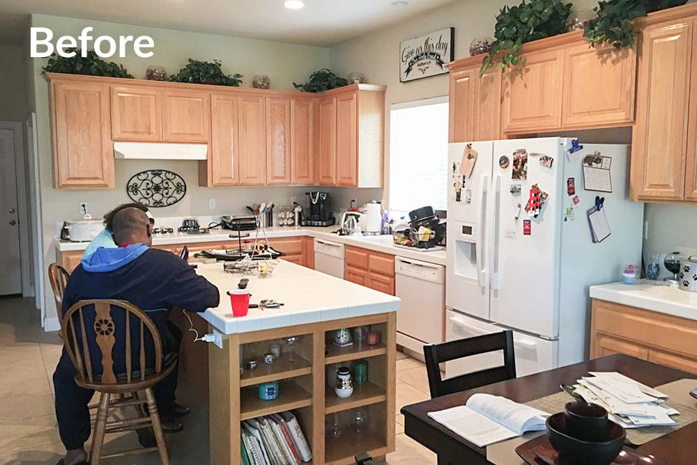 Kitchen Refinish in Carmichael, CA