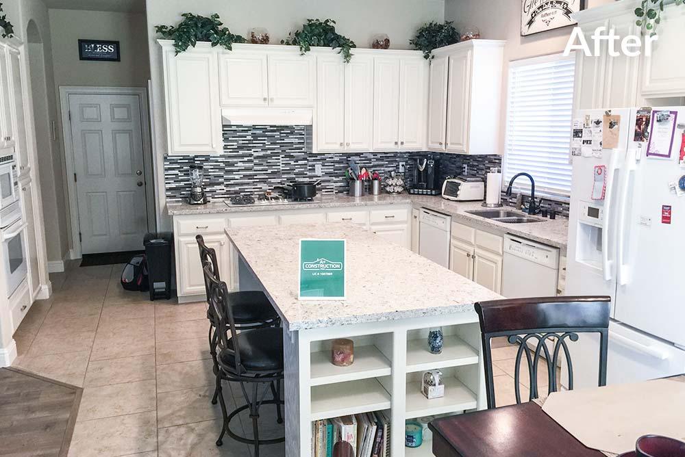 Kitchen Refinish in West Sacramento, CA