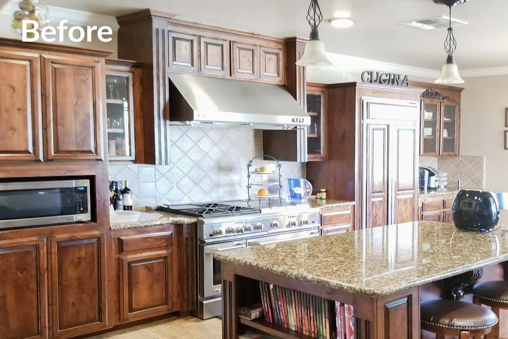 Kitchen Refinish in Granite Bay, CA