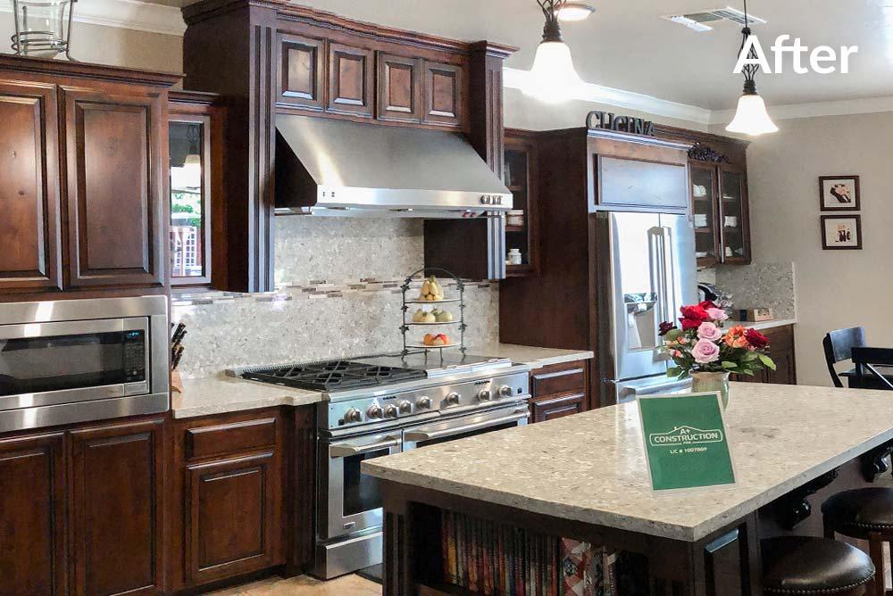Kitchen Refinish in Elk Grove, CA