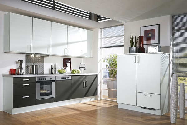 contemporary kitchen cabinets designs started to appear somewhere in the 90 s modern style of the cooking space was mostly characterized by - Contemporary Kitchen Cabinets Design