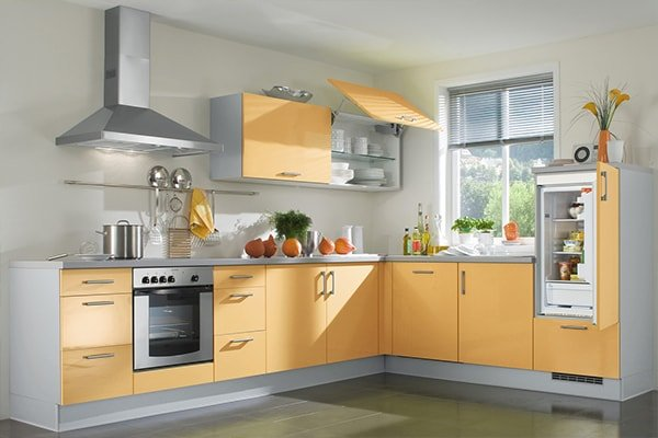 Models of kitchen cabinets