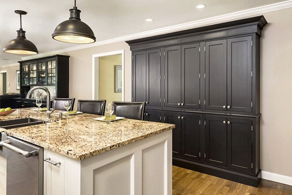 its better to pick out the design that will be able to express your personal designers view custom built cabinets will make you enjoy your decision - Kitchen View Custom Cabinets