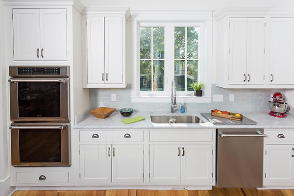 Kitchen Remodeling With White Cabinets A Constructionpro